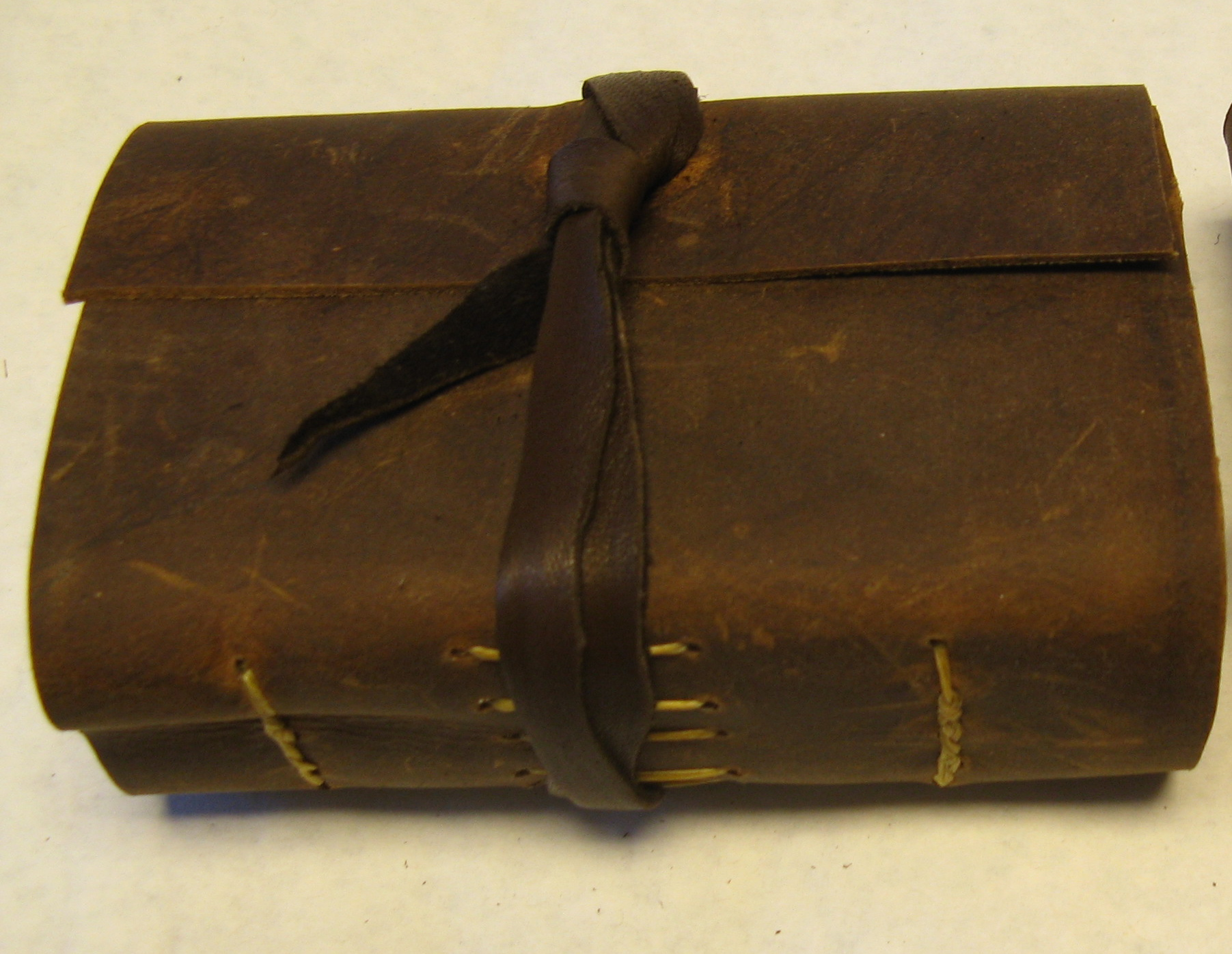 leather poem book journal